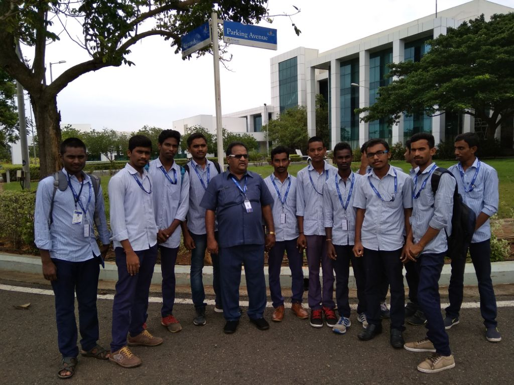 Industrial Visit of Final year Chemistry Students